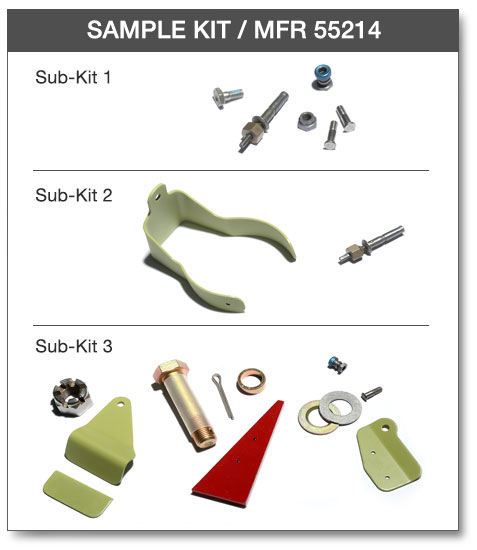 Betashim assembly products kit